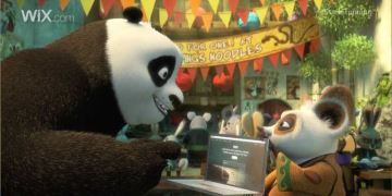Wix.com - Kung Fu Panda, The Power Of Wix