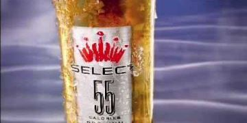 Budweiser Select 55 - Ice Bottle