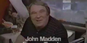Miller Light feat. John Madden - Train